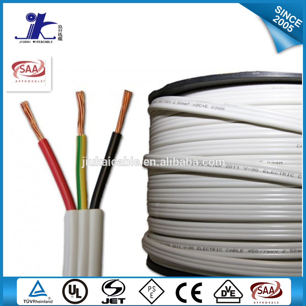 Good Quality Copper Conductor 3 Core Stranded Tps Flat Wire - Buy ...
