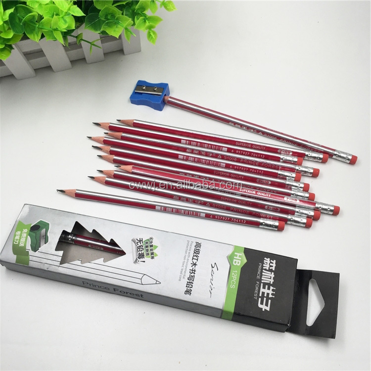 School Bulk Sale Redwood HB Black Lead Pencil Graphite Drawing Pencils