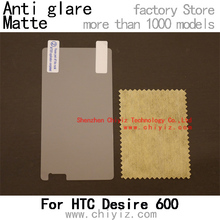 1 x Matte Anti-glare Anti glare Screen Protector Film Guard Cover For HTC Desire 600 Dual Sim Desire 606W 608T 609D