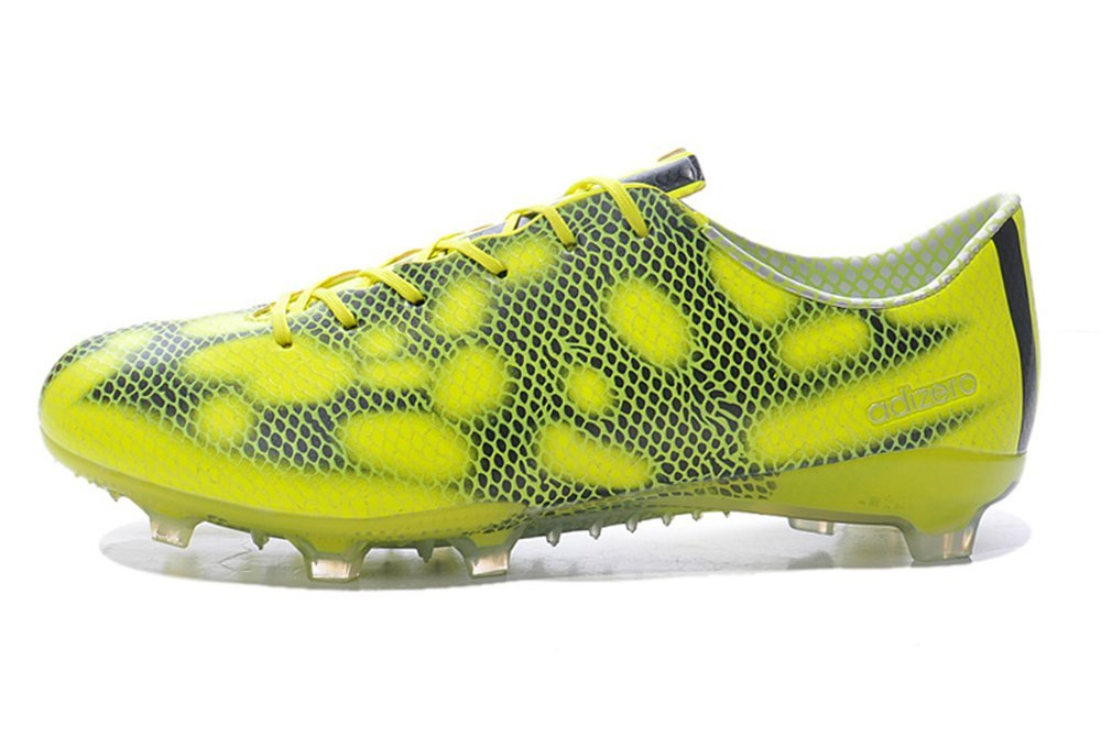 timeless design 31b8a 8d238 Get Quotations · NTFO0TS Generic Men s F50 adizero FG Yellow Football  Soccer Shoes