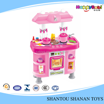 Child Toy Plastic Big Kitchen Set Toy For Girl Buy Big Kitchen Set