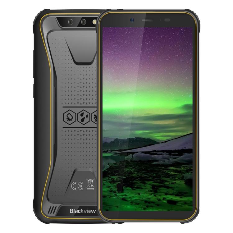 mobile phone Blackview BV5500 Rugged Phone 2GB+16GB IP68 Waterproof Dustproof Shockproof Dual Back Cameras