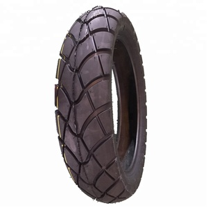 130/80-17 Tubeless nylon motorcycle tyre with color belt packing