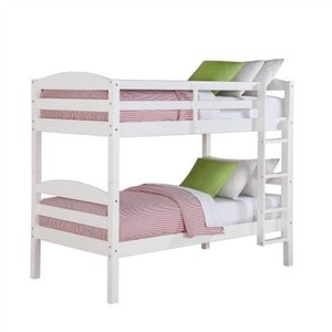Easy assembly pine wood twin Kids Bed Furniture Wooden Bunk Bed for Children