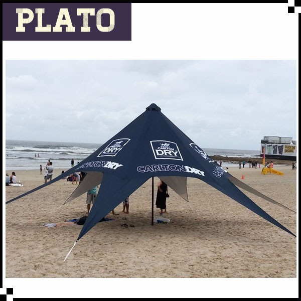 wind resistant canopy Aluminium pole beach star tent for hot sale  sc 1 st  Alibaba & wind canopy tent-Source quality wind canopy tent from Global wind ...