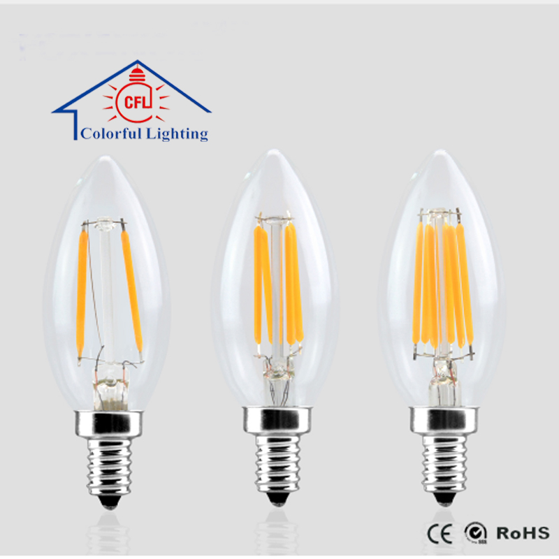 Best selling items C35 2W 4W 6W edison led bulb lamp parts with CE certificate For selling