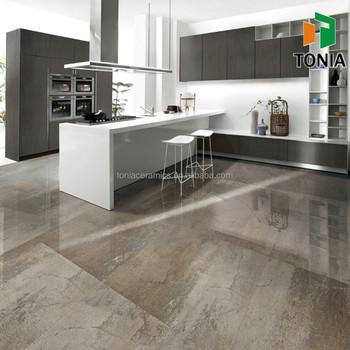 600x900 600x600 Polished Glazed Porcelain Modern Open Kitchen Stone ...