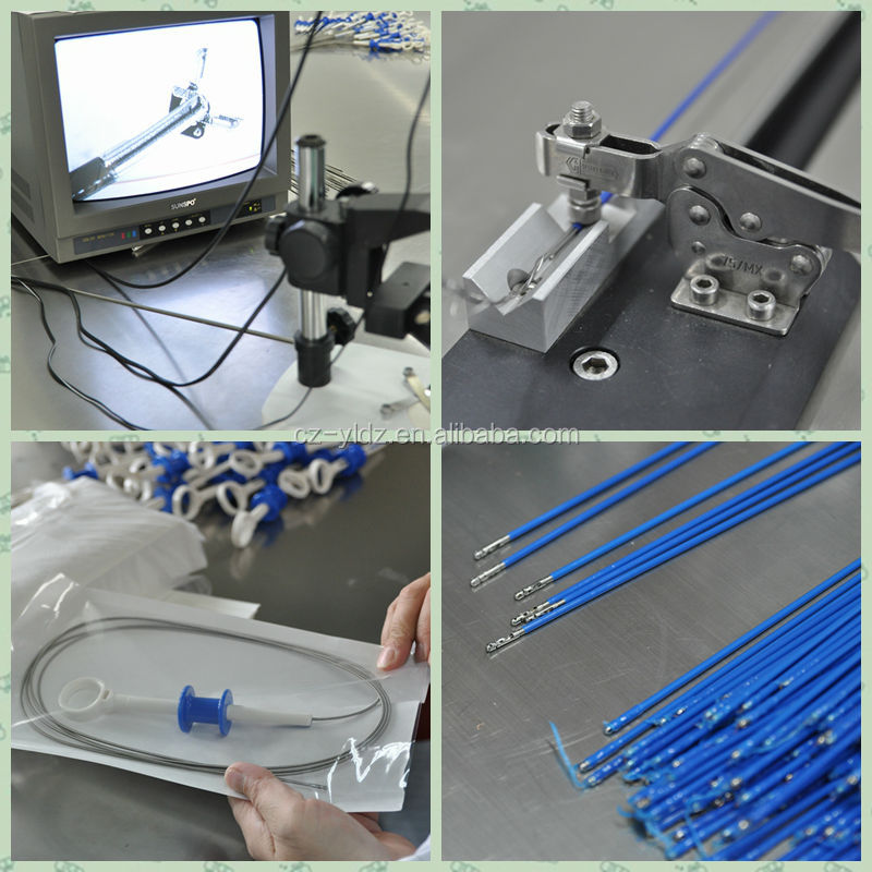 Chinese CE disposable biopsy flexible forceps of surgical instrument