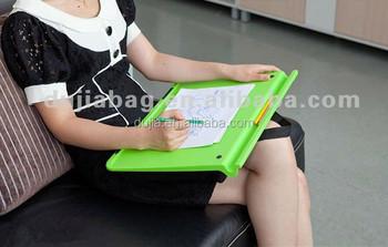 Cixi Dujia Plastic Ergonomic Design Colorful Padded Bean Bag Lap Desk Laptop