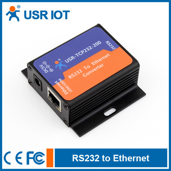 USR-TCP232-200 Serial Device Server RS232 to TCPIP Ethernet Server 32 bits ARM CPU inside