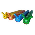 China Inflatable Caterpillar Pipe Games /Inflatable Jumping Sausages Games /Inflatable Bouncy Sausage Racing for team building