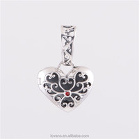 Silver Pendant Custom Made logo jewelry charms Wholesale Photo Charm YZ664