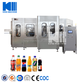 Cola Filling Machine And Carbonated Water Production Plant