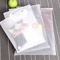 Matte Slider Printing Customized frosted Plastic Packing Underwear Zipper Bag/