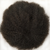 real human hair swiss lace afro toupee for black men in stock