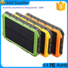 High Technology 10000mAh Portable Solar Charger with Sun power Panel Dual Ports for Emergency Outdoor Camping