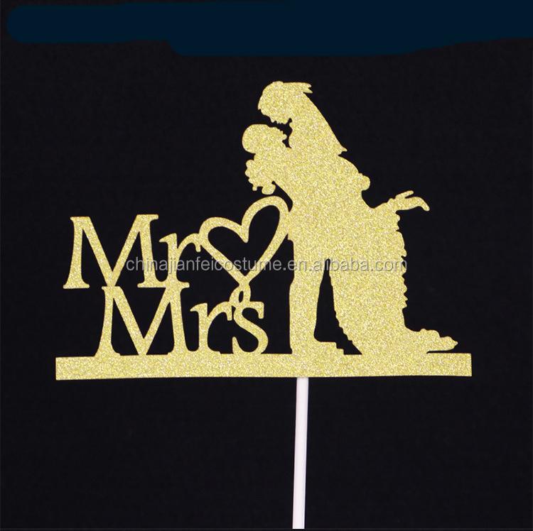 Mr & Mrs Wedding Cake Topper, Mr & Mrs Wedding Cake Topper Suppliers ...