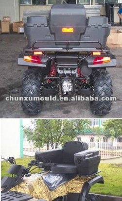 rotational moulded ATV cargo box , plastic ATV cargo box by rotomoulding