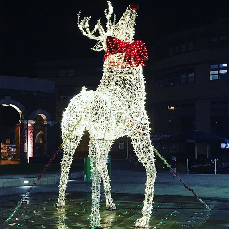 Large outdoor christmas reindeer light large outdoor christmas large outdoor christmas reindeer light large outdoor christmas reindeer light suppliers and manufacturers at alibaba aloadofball Choice Image