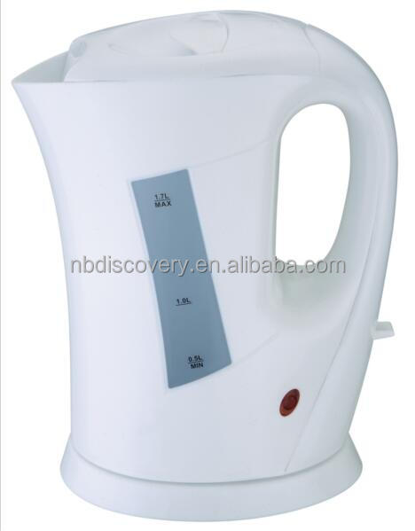 cheap good quality plastic electric Kettle 1.7 L