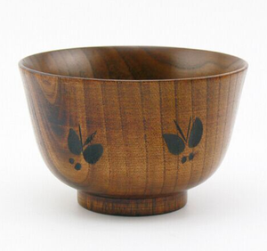 2018 New Product Natural Color Beech Wood Salad Bowl