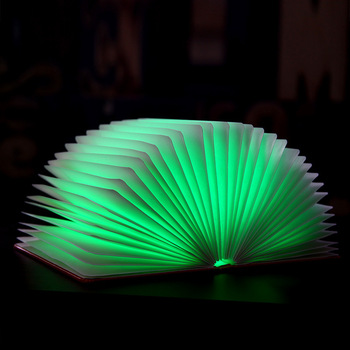 2018 Amazon Hot Selling Folding Book Light Unique Good Birthday Gift For Girl Friend