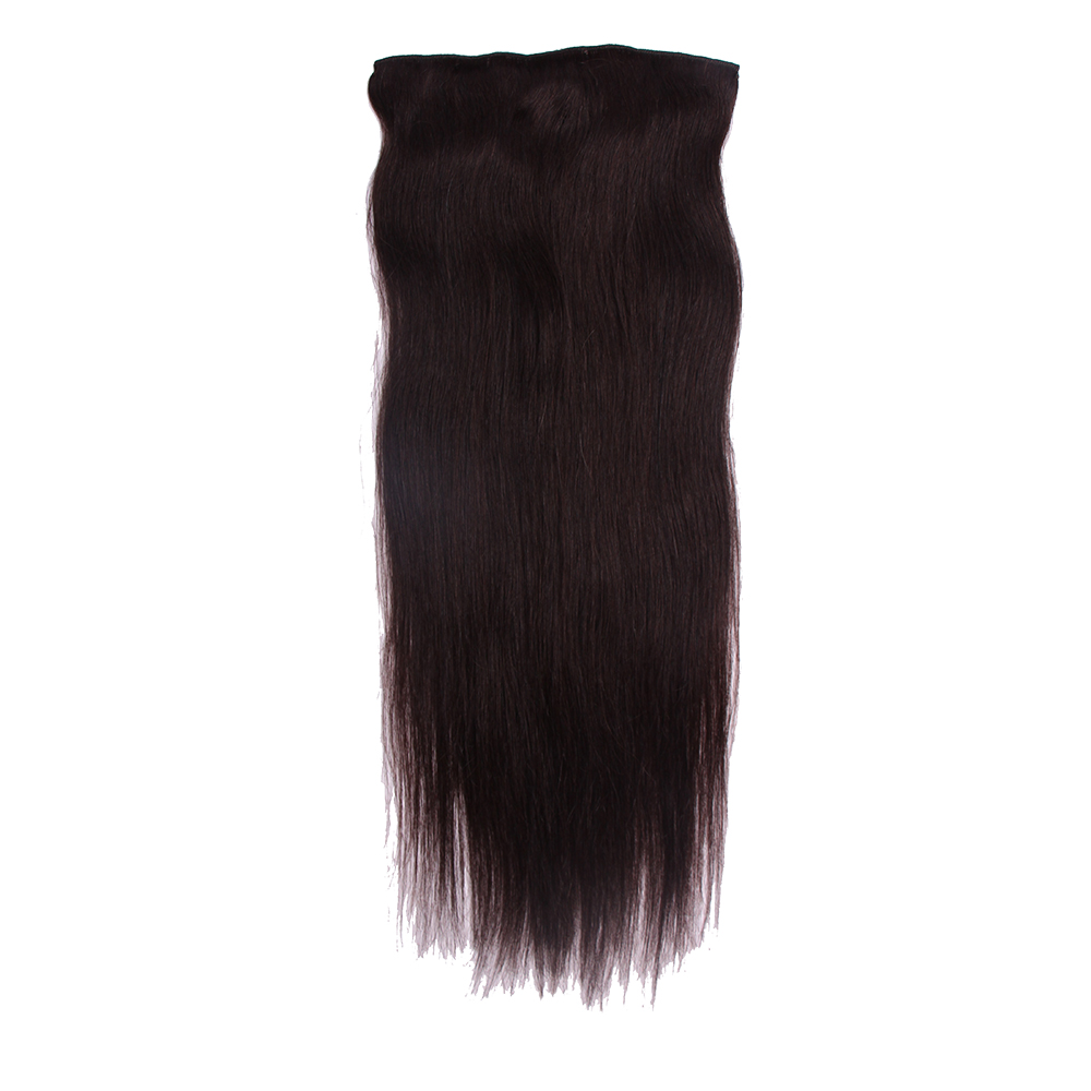 High pure remy hair extension clip on