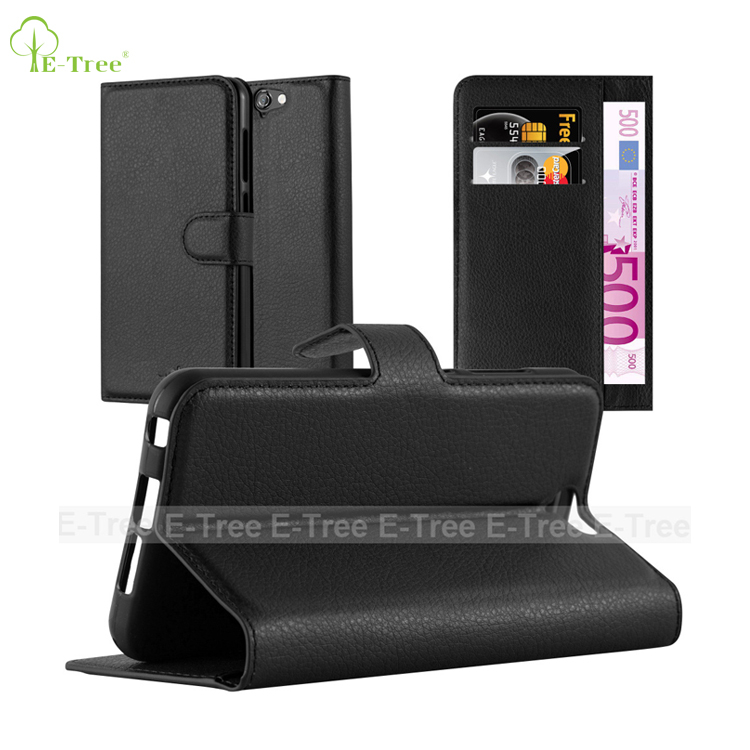 magnetic wallet folio flip leather phone case for HTC one A9, smart book Skin case for HTC one A9