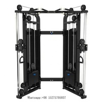 EM1027 best selling fitness equipment multi functional trainer/Multifunction Smith Machine & Cable Crossover