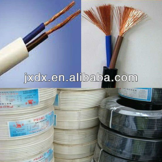 Papua New Guinea hot sale two core pvc cable