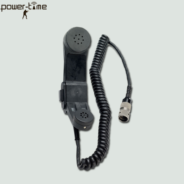 Noise cancelling h-250/u military handset for codan transceivers PTE-M004