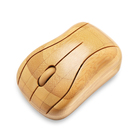 New design custom logo bamboo wood USB optical eco friendly 2.4GHz computer wireless Bluetooth rechargeable mouse for laptop