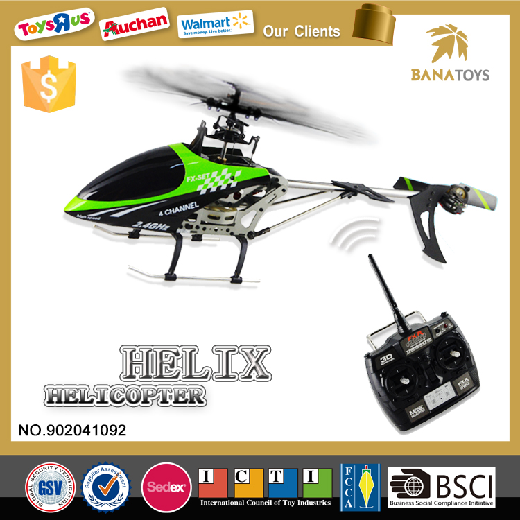 4CH remote control helicopter toys with gyro