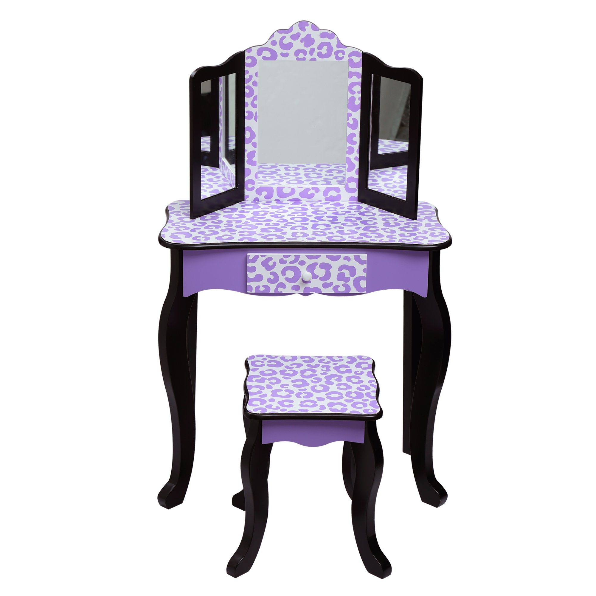 Get Quotations · Teamson Kids Gisele Vanity Table   Stool Set e0a9ca8b1