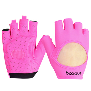 HOT Pink Women Fitness Weight Lifting Gloves