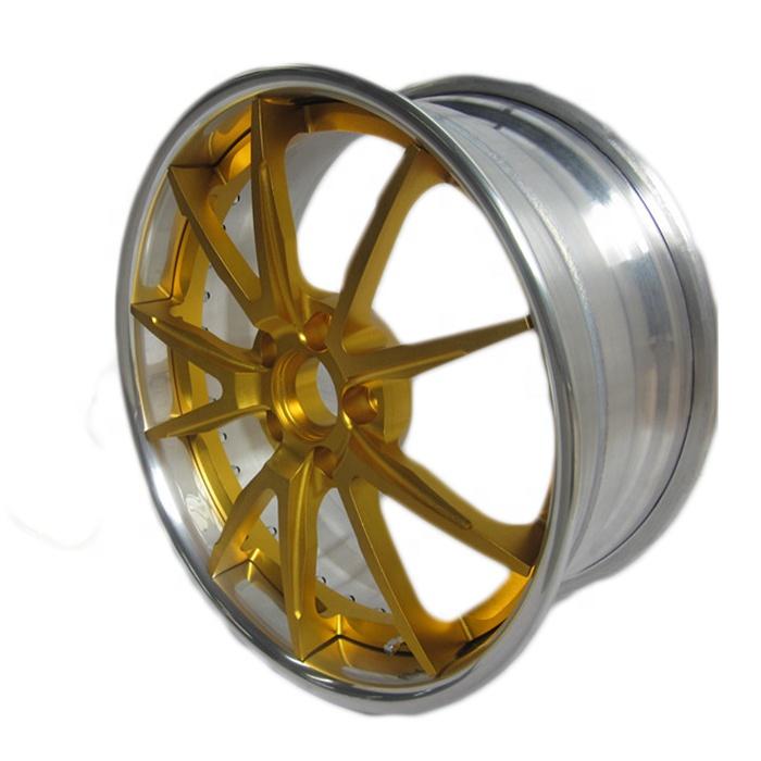High Precise Cnc Milling Service Gold Anodizing Aluminum ...
