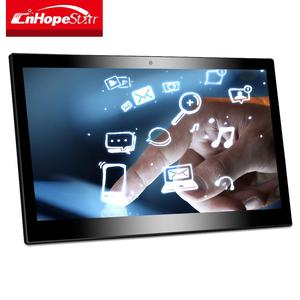 10-point capacitive touch 14inch full flat screen android system computer all in one