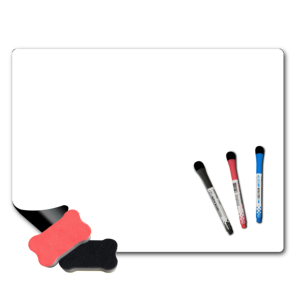 3.9-1 Dry Erase Sheets Magnetic Board Whiteboard Fridge Magnet