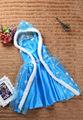 Elsa Summer Dress For Girl 2015 New Hot Princess Dresses Brand Girls Dress