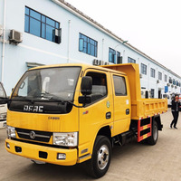 Sinohowo Dongfeng Foton Brand Light Mini Dumper Tipper 3 ton 5ton Dump Trucks for Sale
