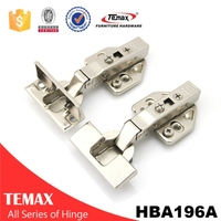 European 3d half overlay soft close hinges for trailers