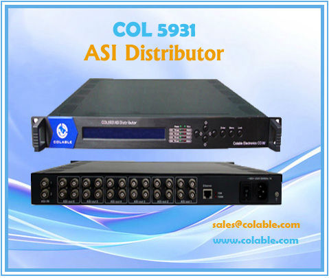 COL5931 TS Distributor with DVB ASI Interface