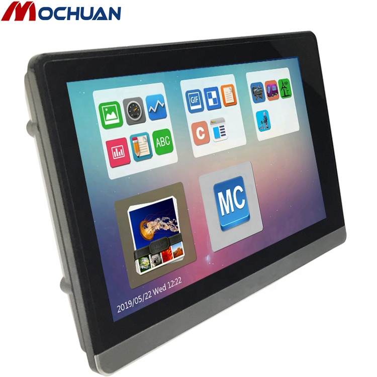 cheap industrial TFT LCD modbus 7 inch human machine interface/ hmi touch screen panel operator ethernet