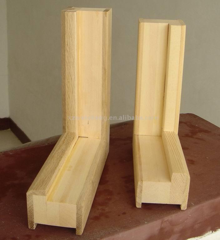 Puerta de madera del marco marcos para puertas y ventanas - Marcos de puertas de madera ...