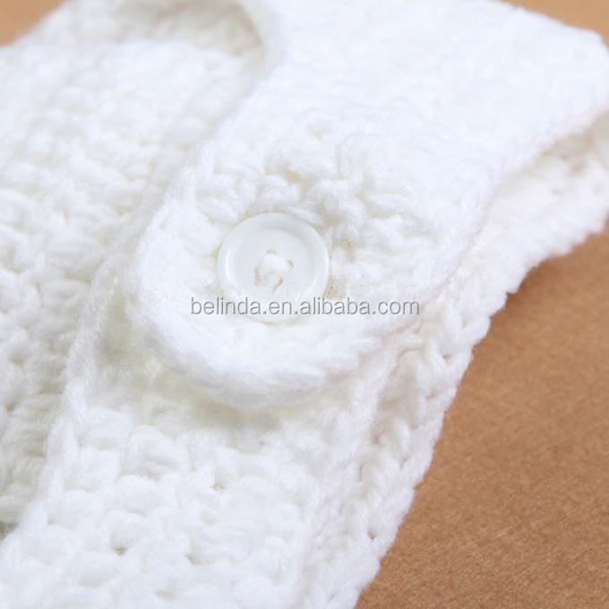 Asombroso Patrón De Crochet Libre Para La Cubierta Del Pañal Recién ...