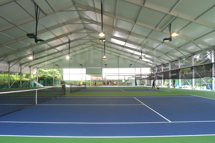 25x60m Big Tennis Court Tent With Abs Or Glass Wall Buy