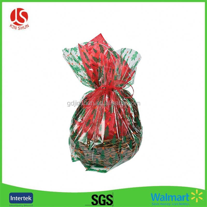 Accept Custom Order and Plastic,pvc Material 2 Dome shrink wrap basket bags