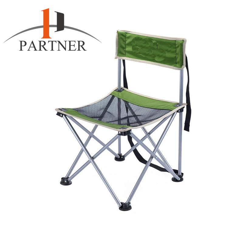Wholesale Metal Plastic camping chair Easy Take folding deck chair 600D oxford comfortable to sit