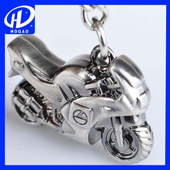 Fashion Motorcycle Scooter 3D Pendant Car Key Chains Keyring