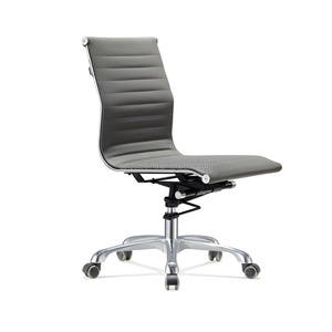Hot selling metal swivel office chairs no arms